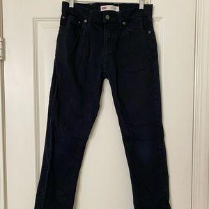 Boy Levi's Black Jeans